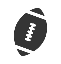 ball football american isolated vector image