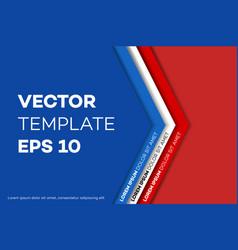 Corporate identity design template vector