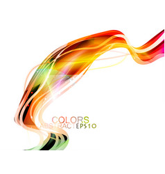 Glittering lines colors vector