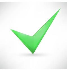 Green checkmark vector