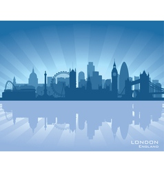 London England skyline vector image vector image
