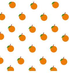 Orange fruits citrus seamless pattern decoration vector