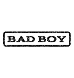bad boy watermark stamp vector image