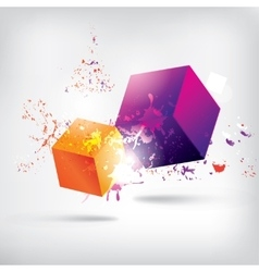 Abstract background with frame for text vector image vector image