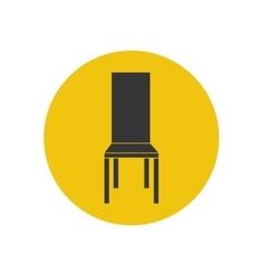 Kitchen chair vector image