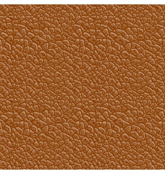 Leather seamless vector image vector image