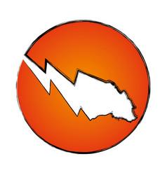 stock market bear symbol vector image vector image