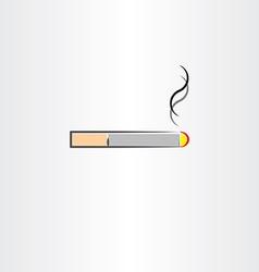 Tobacco cigarette icon symbol vector