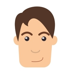 Single man icon vector