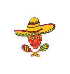 Mexican icon welcome to mexico sign mexican vector