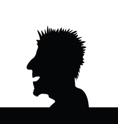 Man head vector