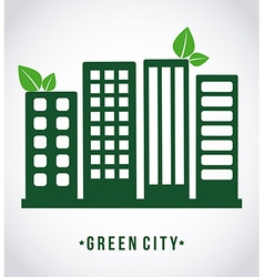 Green city design vector