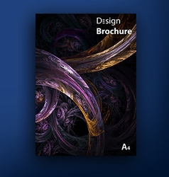 Brochure - booklet cover design templates vector