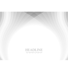 Abstract grey wavy pattern background vector