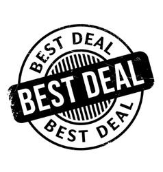 Best deal rubber stamp vector
