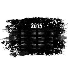 Grunge calendar vector