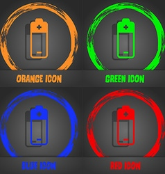 Battery icon fashionable modern style in the vector