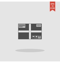 Box icon concept for design vector