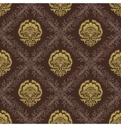 Baroque Seamless Pattern2 vector image vector image