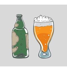 Beer - vector image vector image