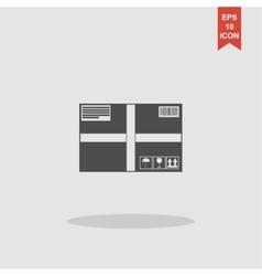 Box icon concept for design vector image vector image