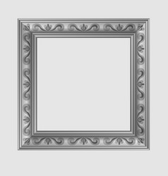 Square decorative frame vector