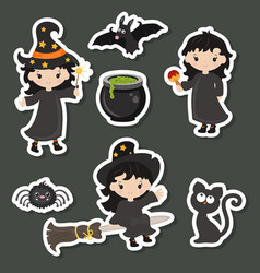 Cute little witch cute little witch vector