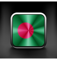 Original and simple bangladesh flag isolated in vector