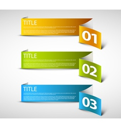 Paper Progress background vector image vector image