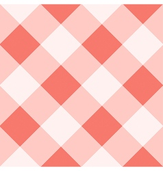 Peach echo white diamond chessboard background vector