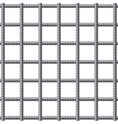 Lattice of fitting rebars vector