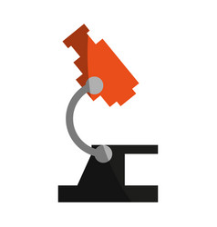 Microscope science icon image vector