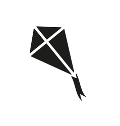 The kite icon kite symbol flat vector