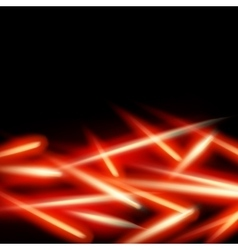 Abstract fire light background eps 10 vector