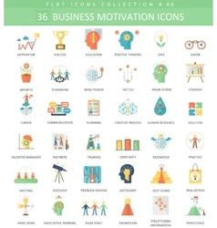 Business motivation color 36 vector image