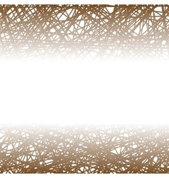 Abstract Brown Line Background vector image vector image