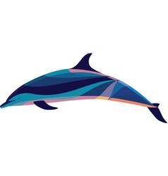 Gary the bottlenose dolphin vector