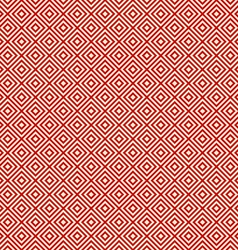 Red background endless east diagonal pattern vector