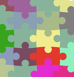 Texture of the puzzle vector