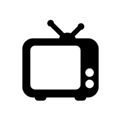 tv icon vector image vector image