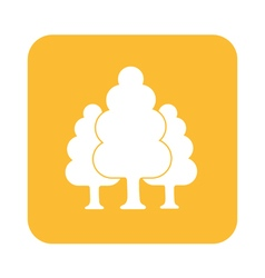 tree forest icon vector image