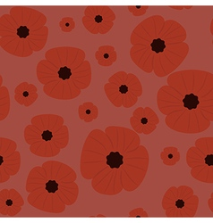 Remembrance day seamless pattern vector