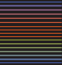 Rainbow line horizontal seamless pattern vector