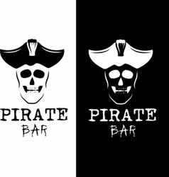 Pirate bar vector