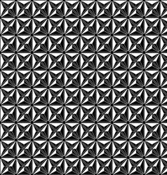 abstract modern seamless pattern black vector image