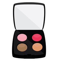 Eyeshadows cosmetic vector