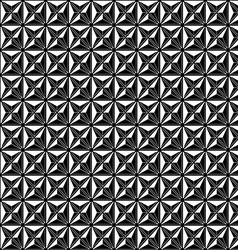 Abstract modern seamless pattern black vector