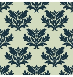 Foliage scroll seamless tracery vector