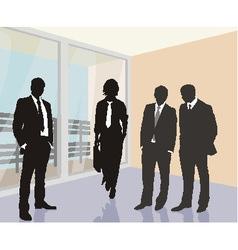 Working meeting vector