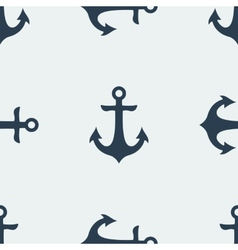 Nautical anchor vector